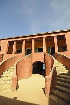 Maison des Esclaves (Slaves House), Goree Island, UNESCO World Heritage Site, near Dakar, Senegal, West Africa, Africa