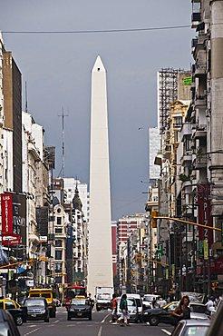 El Obelisco (the Obelisque), Buenos Aires, Argentina, South America