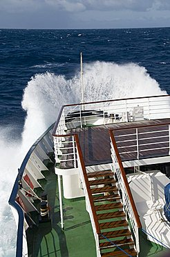 Crossing the Drakes Passage heading south to the Antarctic on MS Andrea, South America