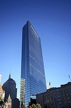 Hancock Tower, Boston, Massachusetts, New England, United States of America, North America