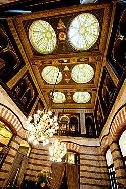 The Tea Room, Pera Palace Hotel, Istanbul, Turkey, Europe