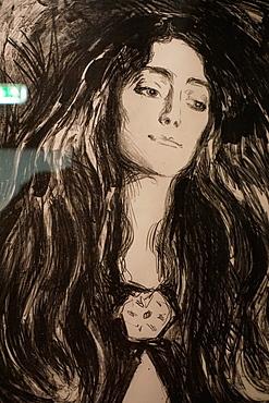 Edvard Munch paintings, Rasmus Meyer Collection, KODE 3 Art Museum, Bergen, Hordaland, Norway, Scandinavia, Europe