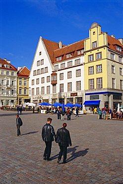 Town Hall Square, Old Tallinn, Estonia