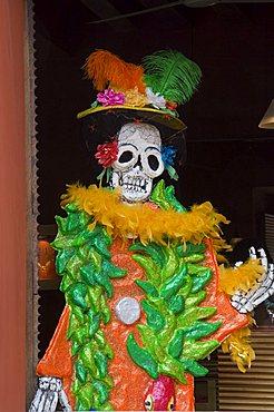 Day of the Dead decoration, Oaxaca City, Oaxaca, Mexico, North America