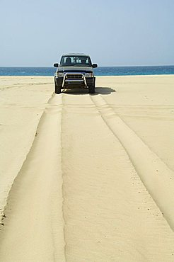 Praia de Santa Monica (Santa Monica Beach), Boa Vista, Cape Verde Islands, Africa
