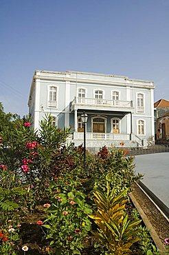 Old colonial style building, Sao Filipe, Fogo (Fire), Cape Verde Islands, Africa