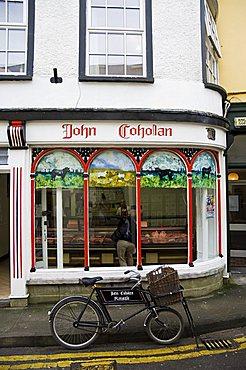 Butcher's shop, Kinsale, County Cork, Munster, Republic of Ireland, Europe