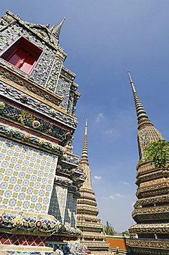 Reclining Buddha, Wat Pho, Bangkok, Thailand, Southeast Asia, Asia