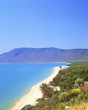 The coast between Cairns and Port Douglas on the Cook Highway, Queensland, Australia