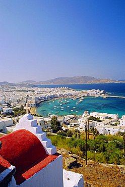 Mykonos, Mykonos Town and Port, Cyclades Islands, Greece