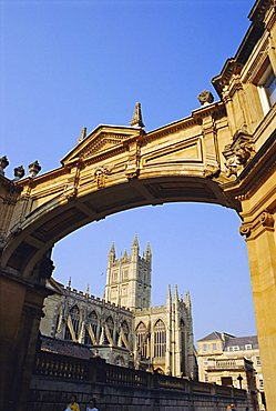 Bath Abbey, Bath, Avon & Somerset, England, UK
