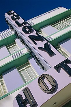 Colony Hotel, Ocean Drive, South Beach, Miami Beach, Miami, Florida, USA, North America