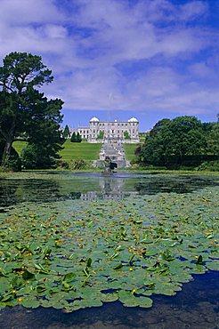 Powerscourt Estate and gardens, County Wicklow, Leinster, Republic of Ireland (Eire), Europe
