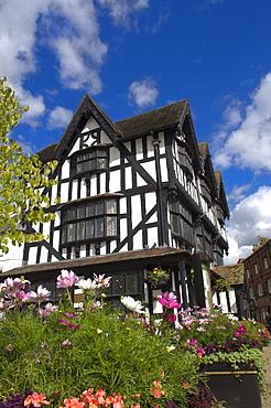 The Black and White House, Hereford, Herefordshire, England, United Kingdom, Europe