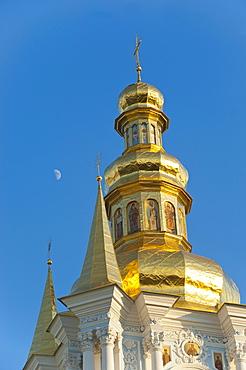Kovnirs Bell Tower, Church of the Nativity of the Virgin, Pechersk Lavra, UNESCO World Heritage Site, Kiev, Ukraine, Europe