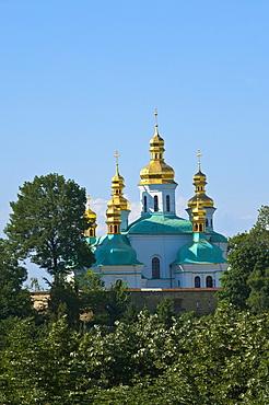 Church of the Nativity of the Virgin and Kovnirs Bell Tower, Pechersk Lavra, UNESCO World Heritage Site, Kiev, Ukraine, Europe