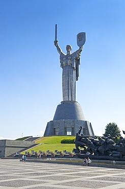 Motherland Statue (Rodina Mat), Kiev, Ukraine, Europe