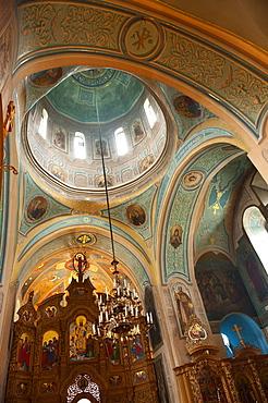 Mural, Pechersk Lavra Monastery, Kiev, Ukraine, Europe