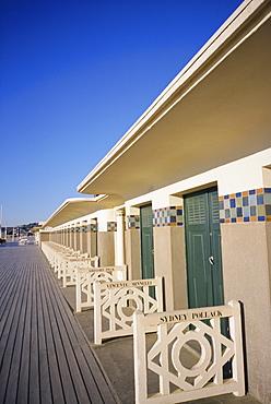 Pompeian baths, Deauville, Basse Normandie (Normandy), France, Europe