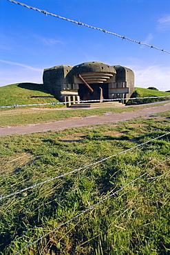 Gun battery, casement, Longues-sur-Mer, Calvados, Normandy, France