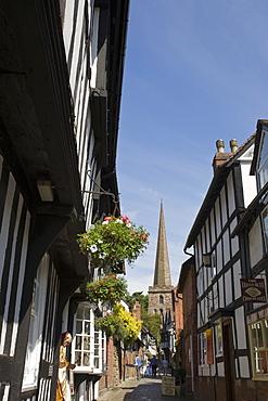 Church Lane, Ledbury, Herefordshire, England, United Kingdom, Europe