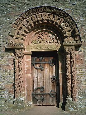 Kilpeck church, Herefordshire, England, United Kingdom, Europe