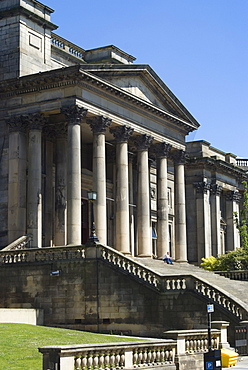 The World Museum, part of Liverpool's museum complex, Liverpool, Merseyside, England, United Kingdom, Europe