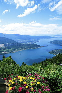 Lac Annecy, Rhone Alpes, France, Europe