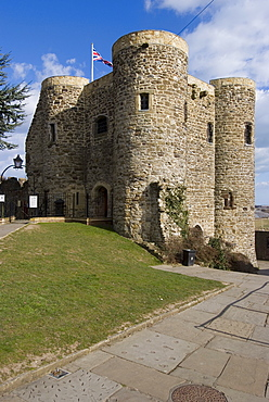 Rye Castle, built in 1249, now a museum, Rye, East Sussex, England, United Kingdom, Europe