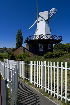 Rye windmill, Rye, East Sussex, England, United Kingdom, Europe