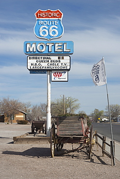 The Route 66 Motel, Seligman, Arizona, United States of America, North America