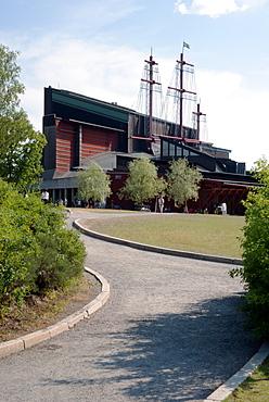 View of the Vasa Ship Museum, Stockholm, Sweden, Scandinavia, Europe