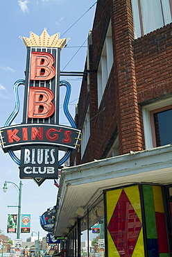 BB King's Blues Club, Beale Street, Memphis, Tennessee, United States of America, North America