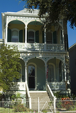 Historic District, Galveston, Texas, United States of America, North America