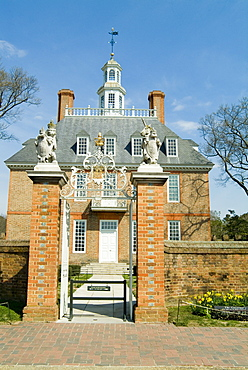Governor's Palace, Williamsburg, Virginia, United States of America, North America