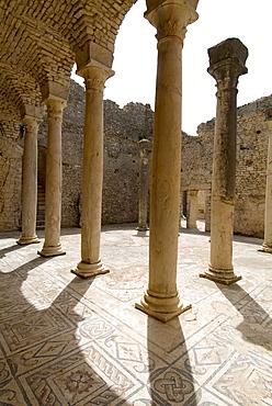 Ancient Roman city of Thugga (Dougga), UNESCO World Heritage Site, Tunisia, North Africa, Africa