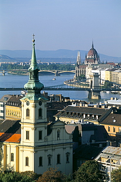 Budapest and the River Danube, Hungary, Europe