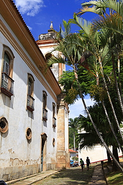 Historic town of Ouro Preto, UNESCO World Heritage Site, Minas Gerais, Brazil, South America