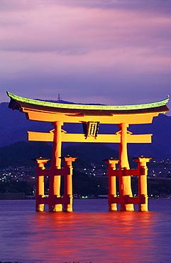 Torii Gate Shrine (Itsukushima-Jingu), Miya Jima Island, Japan - 701-189