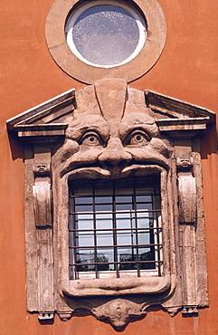 Monster's House window detail, Rome