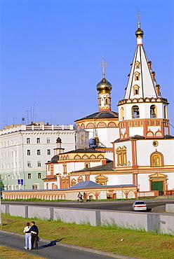 Russian Orthodox Church, Irkutsk, Siberia, Russia