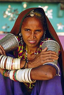 Woman, Tonk, Rajasthan, India,