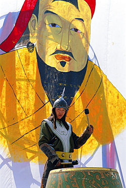Tournament, Naadam Festival, Ulaan Baatar (Ulan Bator), Mongolia, Asia