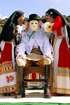 Carnival, La Sartiglia, Oristano, Sardinia, Italy, Europe