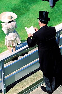 Hat, Horse race, Royal Ascot, Ascot, England