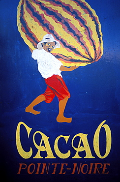 Cacao house, Basse Terre, Guadeloupe, Caribbean, Central America