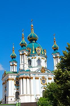 St, Andrew's Church, Kiev, Ukraine, Europe