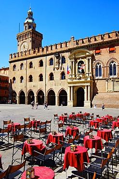 Palazzo Comunale, Piazza Maggiore, Bologna, Emilia-Romagna, Italy, Europe