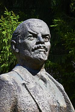 Statue of Lenin, Stalin world, Gruto Park, Druskininkai, Alytus Region, Lithuania, Europe