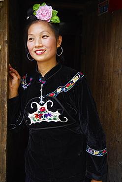 Skirt Miao, Xijiang village, Guizhou Province, China, Asia